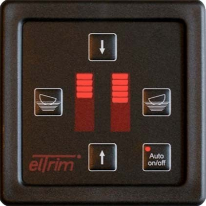 ElTrim Automatic Steering Control Unit for Helm 12 Volt  New Style Panel