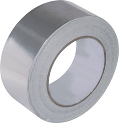 Foil tape for engine room insulation