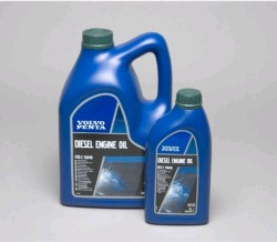 Volvo Penta 15W40 mineral oil for marine engines